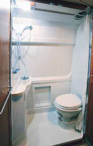 Sprinter Conversion Bathroom by Roadtrek