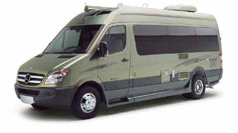 Roadtrek Sprinter RV Camper Van