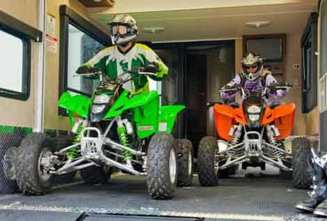 5th Wheel Toy Hauler Garage