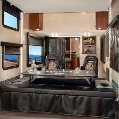 5th Wheel Toy Hauler RV