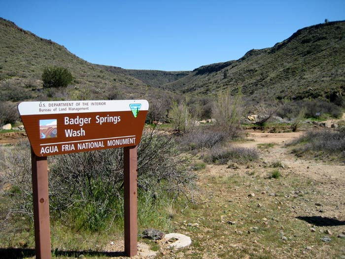 Badger Springs Wash