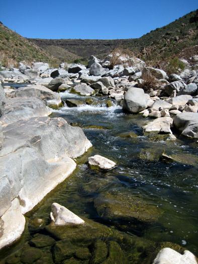 Agua Fria River rapids