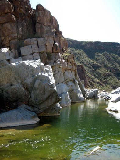Agua Fria River Canyon