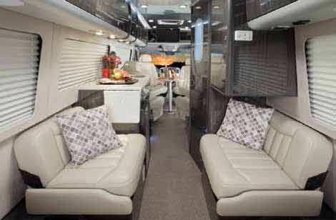 Sprinter camper van by Airstream