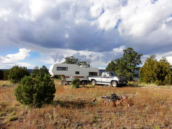 Apache National Forest RV Camping
