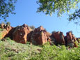 Picture of colorful Red Tank Draw near Sedona, Arizona