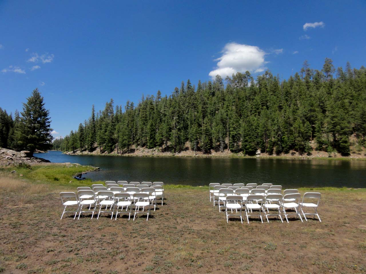 Bear Canyon Lake Wedding