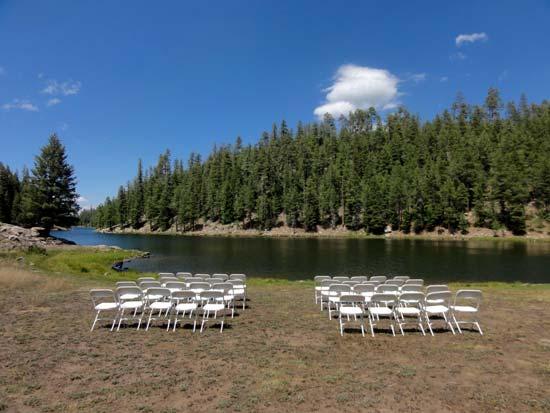 Bear Canyon Lake Wedding