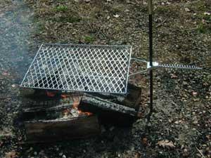Captivating Campfire Grill
