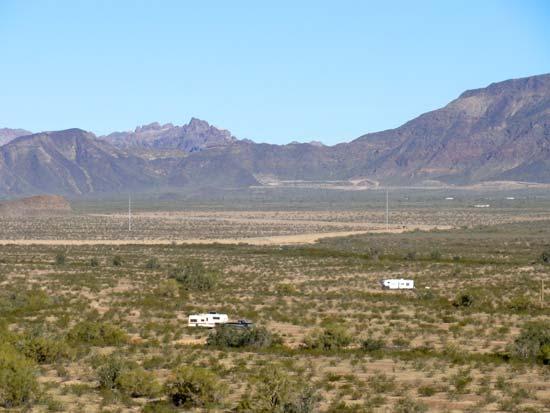 Camping at Saddle Mountain