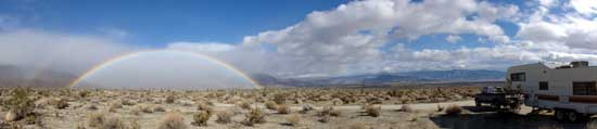 Dispersed Camping in Anza Borrego Desert State Park