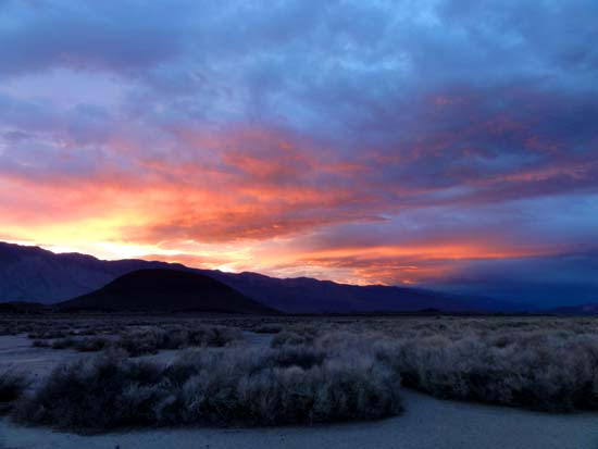 Eastern Sierra Sunset