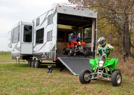 Fifth Wheel Toy Hauler