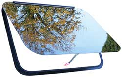 Frameless RV Window