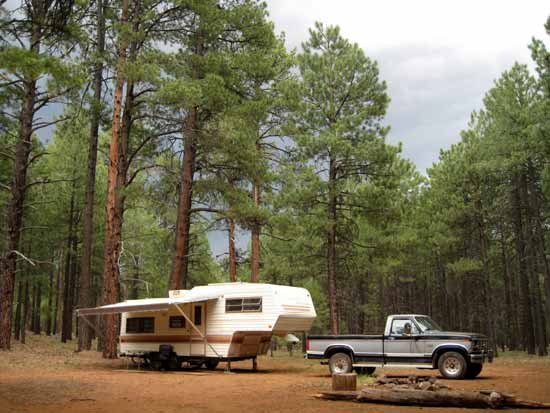Full time RVing in Northern Arizona