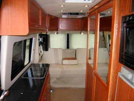 Sprinter camper van by Great West Vans
