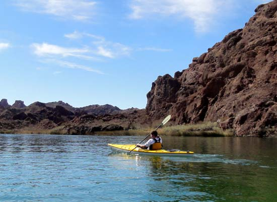 Kayaking Topock Gorge