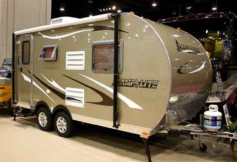 light weight travel trailer