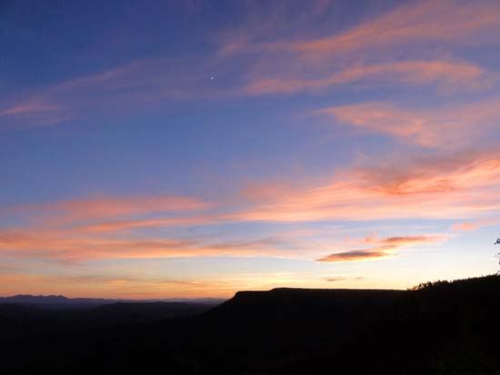 Mogollon Rim Sunset