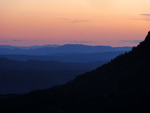 Mogollon Rim Sunset