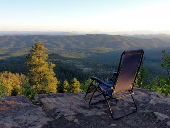 Mogollon Rim View
