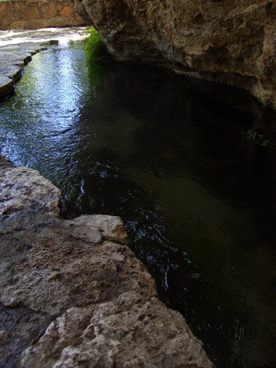 Irrigation canal near the outlet of Montezuma Well