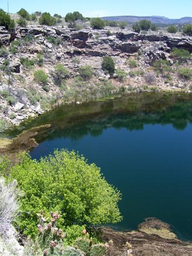 Montezuma Well, part of Montezuma Castle National Monument
