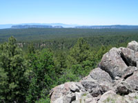 Picture of Oak Creek Canyon From Coulter Hill South of Flagstaff, Arizona