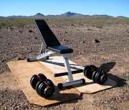 My portable gym