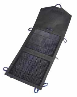 Portable solar panel by Sunforce