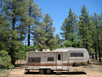 Picture of RV Camping near Priest Draw South of Flagstaff, Arizona