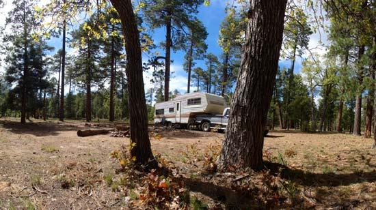 Rim Lakes RV Camping