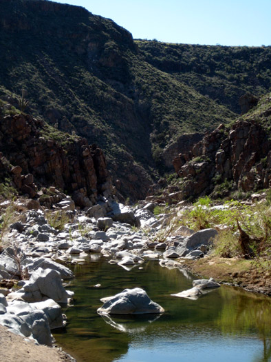 Agua Fria River Canyon