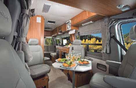 Sprinter camper van by Roadtrek