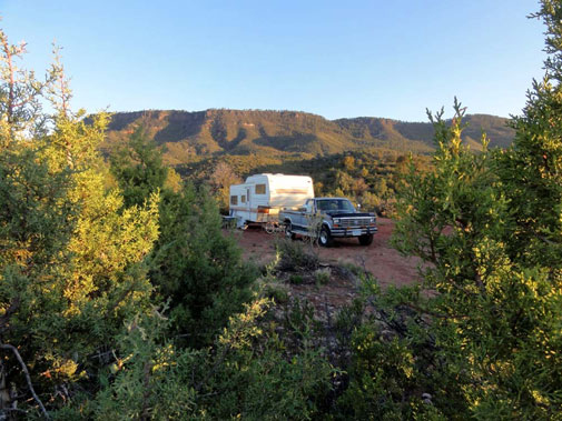 Mogollon Rim RV Camping