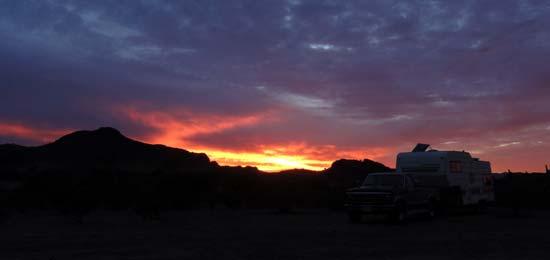 RV Camping at Saddle Mountain