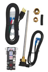 RV Electric Water Heater Conversion