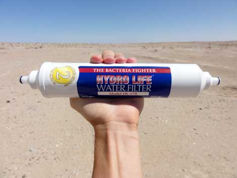RV water filter by Hydro Life