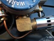 RV Water Heater Main Burner Orifice