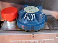 RV Water Heater Pilot Mode