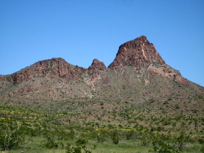 Northeast section of Saddle Mountain