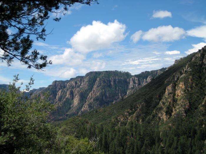 Picturesque Oak Creek Canyon from Thomas Point Trail