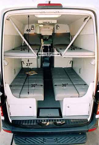 Sprinter camper van by Sportsmobile