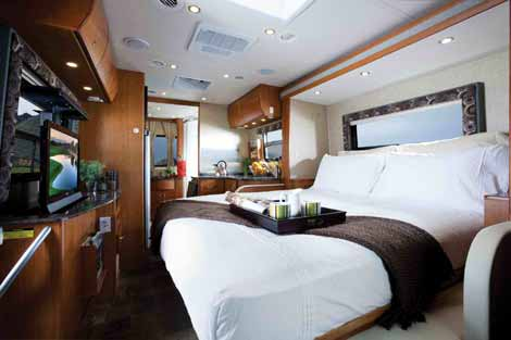 Sprinter motorhome Unity with murphy bed