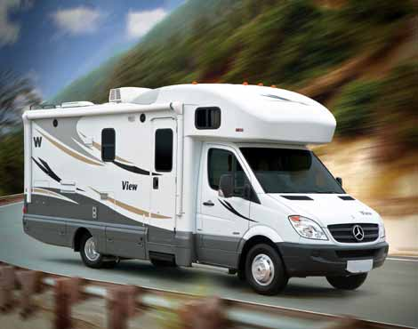 Sprinter motorhome by Winnebago