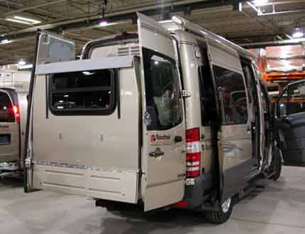 Roadtrek Sprinter RV Camper Van with Slide-out