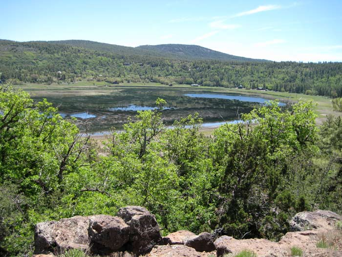 Stoneman Lake is a natural lake in Arizona thought to be created by a deep, collapsed sinkhole. Boating, bird watching, and picnicking are popular activities at this medium-sized lake.