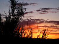 Picture of a Sunset Near Red Tank Draw southeast of Sedona, Arizona
