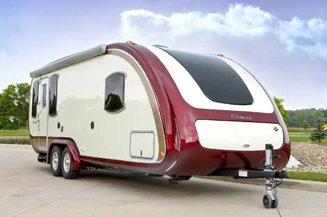 ultra lite travel trailer