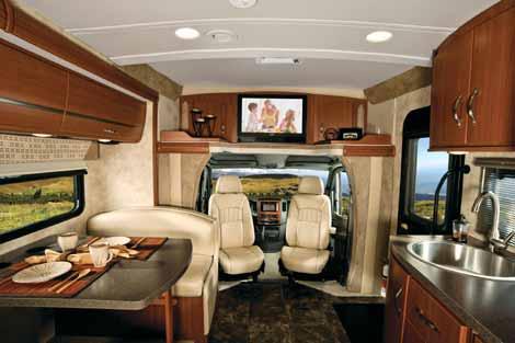 The Sprinter Motorhome A Look At Class C Mercedes Benz